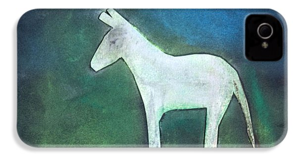 Donkey, 2011 Oil On Canvas IPhone 4s Case by Roya Salari