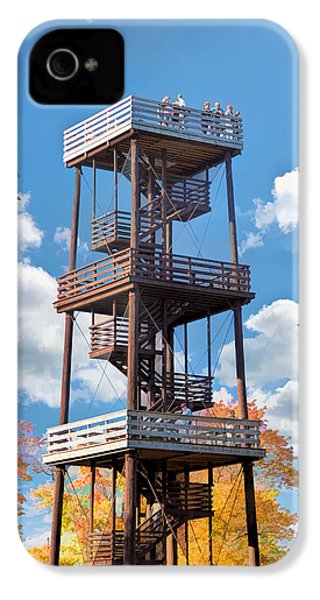 Door County Eagle Tower Peninsula State Park IPhone 4s Case by Christopher Arndt