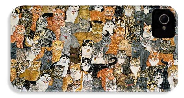 Double Cat Spread IPhone 4s Case