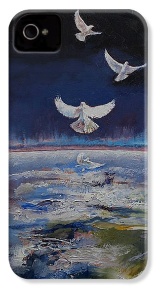 Doves IPhone 4s Case by Michael Creese
