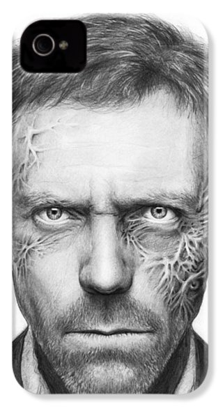 Dr. Gregory House - House Md IPhone 4s Case by Olga Shvartsur