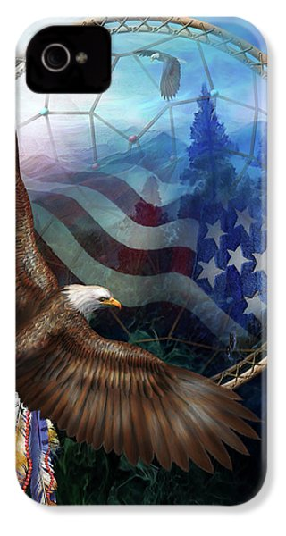 Dream Catcher - Freedom's Flight IPhone 4s Case