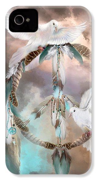 Dreams Of Peace IPhone 4s Case by Carol Cavalaris