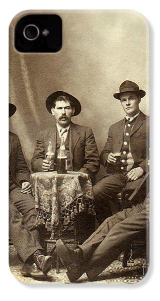 Drinking Buddies IPhone 4s Case by Jon Neidert