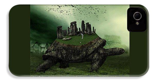 Druid Golf IPhone 4s Case by Marian Voicu
