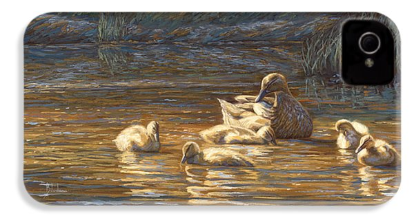 Ducks IPhone 4s Case by Lucie Bilodeau