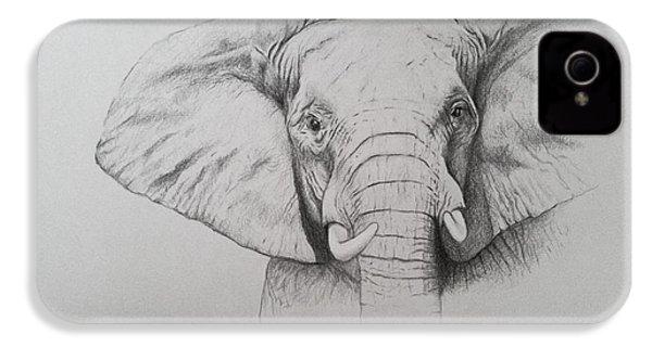 Elephant IPhone 4s Case by Ele Grafton