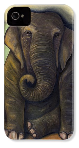 Elephant In The Room IPhone 4s Case