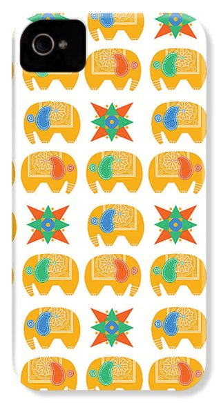 Elephant Print IPhone 4s Case