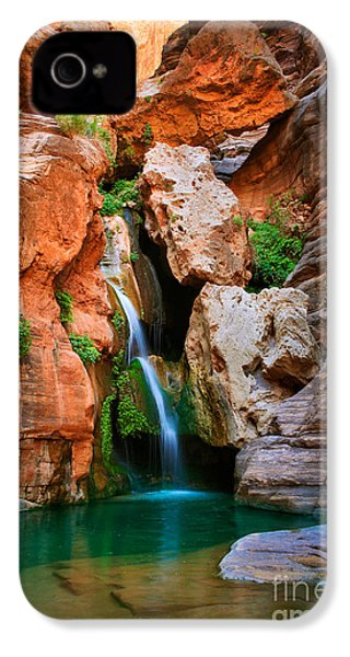 Elves Chasm IPhone 4s Case by Inge Johnsson