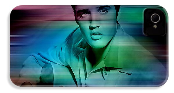 Elvis IPhone 4s Case by Marvin Blaine