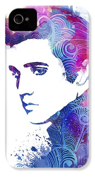 Elvis Presley IPhone 4s Case by Luke and Slavi