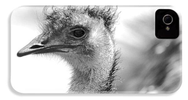 Emu - Black And White IPhone 4s Case