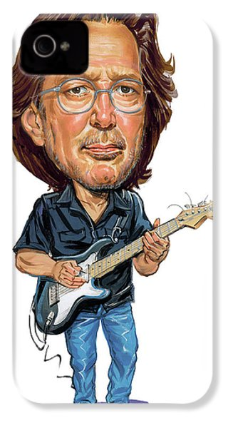 Eric Clapton IPhone 4s Case by Art