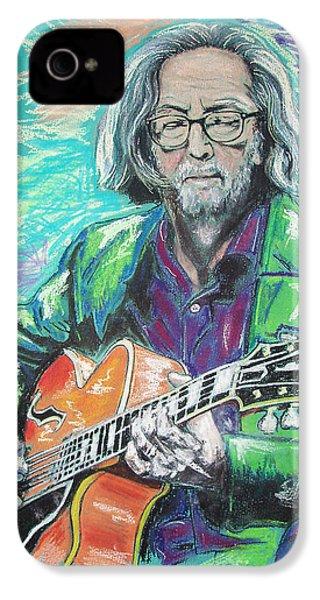 Eric Clapton IPhone 4s Case by Melanie D