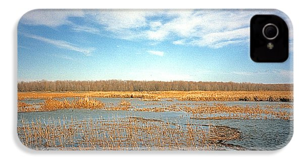 IPhone 4s Case featuring the photograph Etang by Marc Philippe Joly