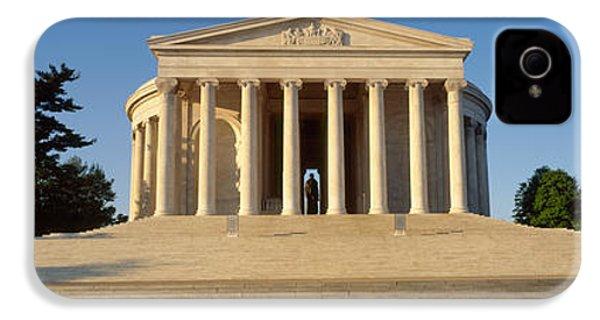 Facade Of A Memorial, Jefferson IPhone 4s Case