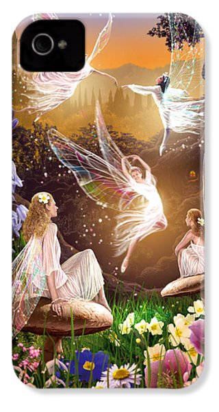 Fairy Ballet IPhone 4s Case by Garry Walton