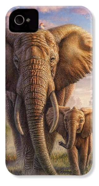 Family Stroll IPhone 4s Case by Phil Jaeger