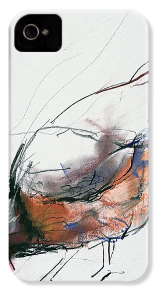 Feeding Hen, Trasierra IPhone 4s Case by Mark Adlington