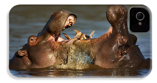 Fighting Hippo's IPhone 4s Case by Johan Swanepoel