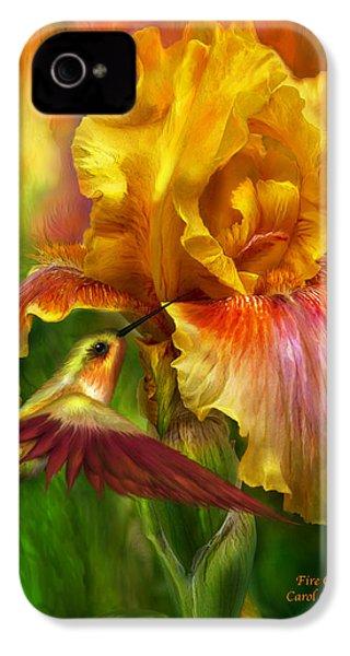 Fire Goddess IPhone 4s Case by Carol Cavalaris
