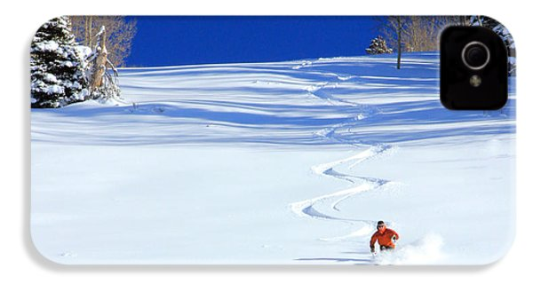 First Tracks IPhone 4s Case by Johnny Adolphson