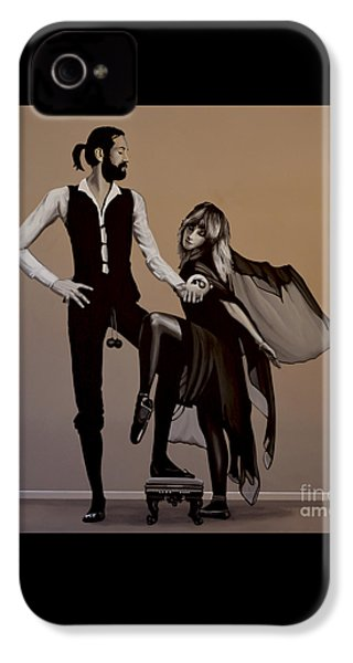 Fleetwood Mac Rumours IPhone 4s Case by Paul Meijering