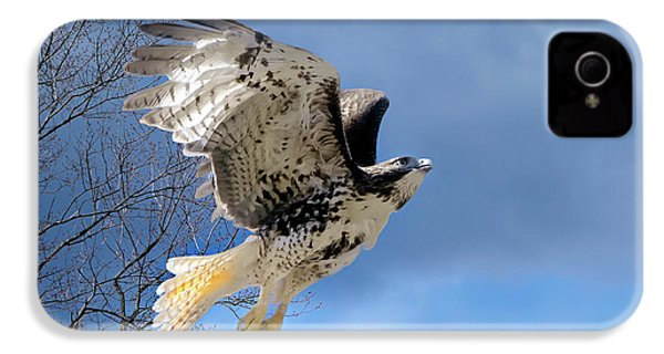 Flight Of The Red Tail IPhone 4s Case by Bill Wakeley