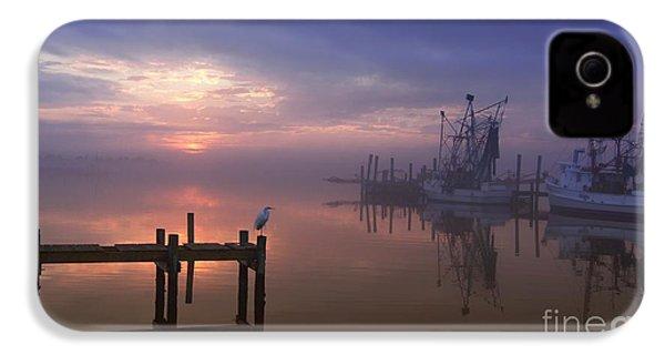 Foggy Sunset Over Swansboro IPhone 4s Case