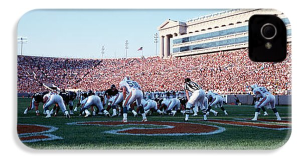 Football Game, Soldier Field, Chicago IPhone 4s Case by Panoramic Images