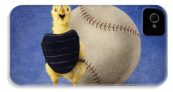 Fowl Ball... IPhone 4s Case by Will Bullas