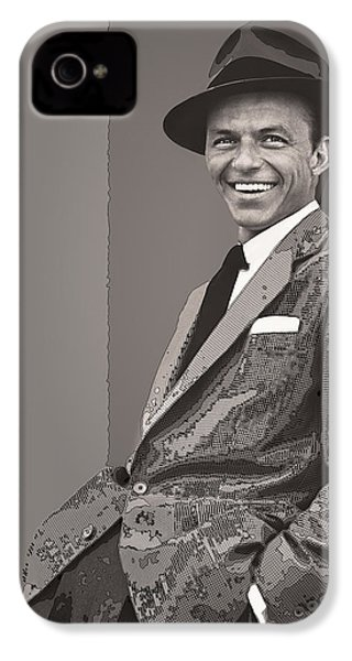 Frank Sinatra IPhone 4s Case by Daniel Hagerman