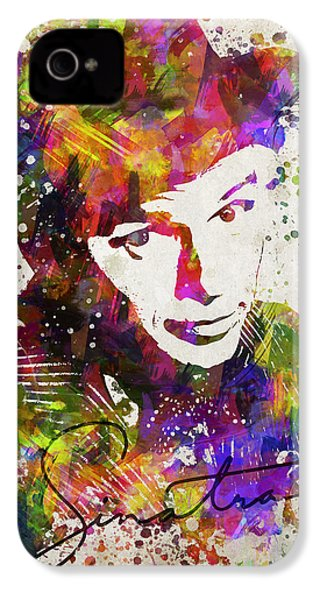 Frank Sinatra In Color IPhone 4s Case by Aged Pixel