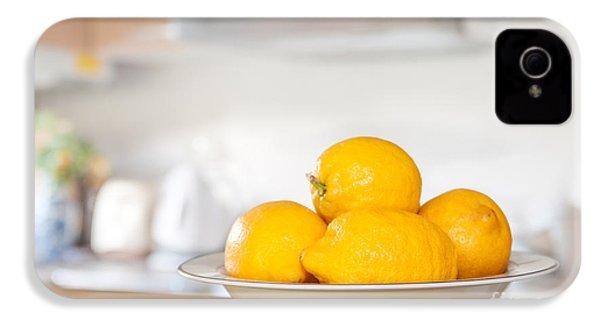 Freshly Picked Lemons IPhone 4s Case by Amanda Elwell