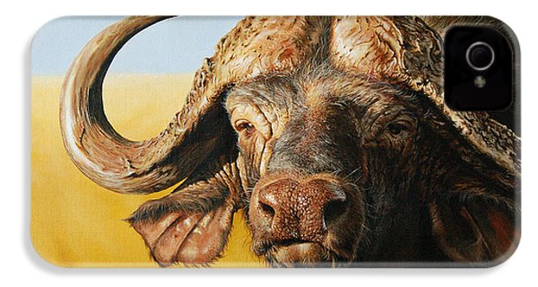 African Buffalo IPhone 4s Case by Mario Pichler