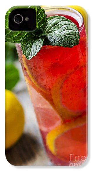 Fruit Cocktail IPhone 4s Case by Jelena Jovanovic