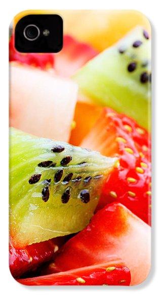 Fruit Salad Macro IPhone 4s Case by Johan Swanepoel