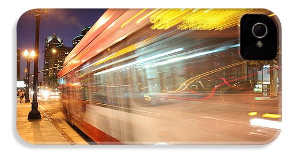 IPhone 4s Case featuring the photograph Fun At The Bus Stop by Nathan Rupert