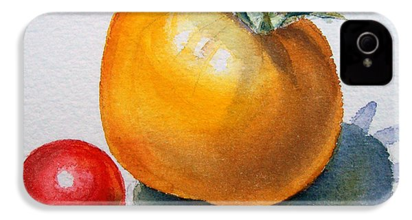 Garden Tomatoes IPhone 4s Case by Irina Sztukowski