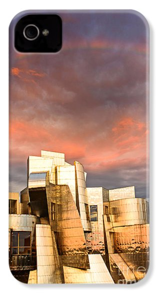 Gehry Rainbow IPhone 4s Case by Joe Mamer