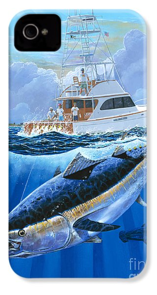 Giant Bluefin Off00130 IPhone 4s Case by Carey Chen