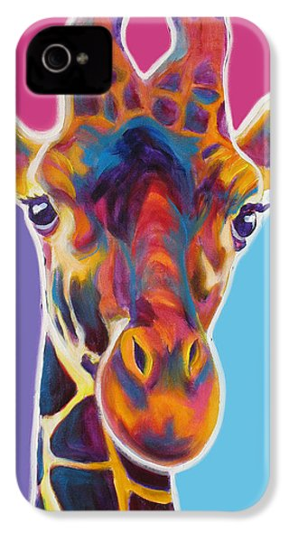 Giraffe - Marius IPhone 4s Case by Alicia VanNoy Call