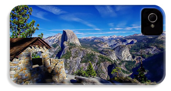 Glacier Point Yosemite National Park IPhone 4s Case by Scott McGuire