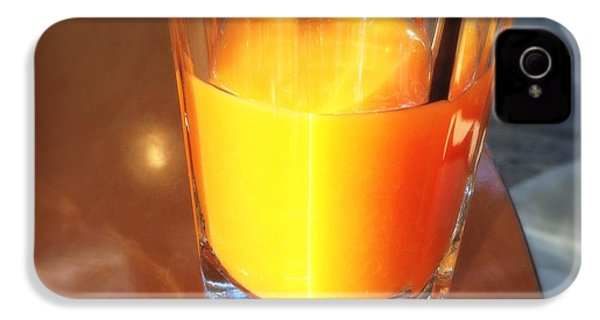 Glass With Orange Fruit Juice IPhone 4s Case