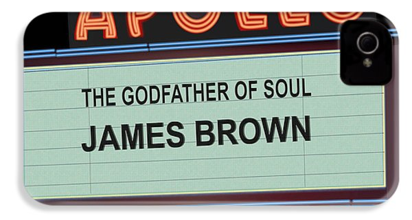 Godfather Of Soul IPhone 4s Case by Michael Lovell