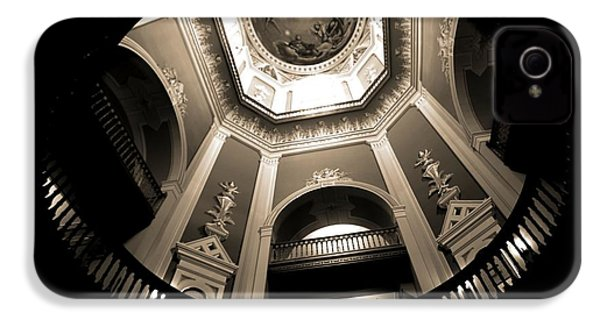 Golden Dome Ceiling IPhone 4s Case by Dan Sproul