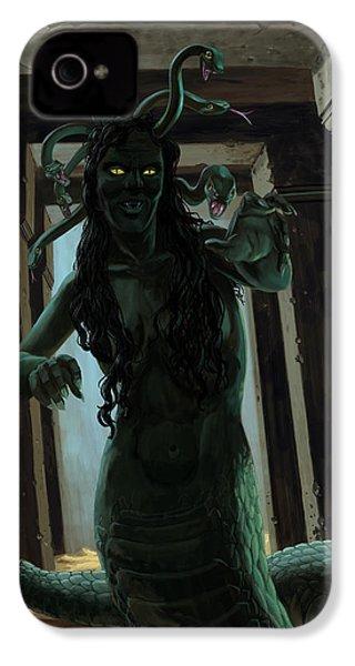 Gorgon Medusa IPhone 4s Case by Martin Davey