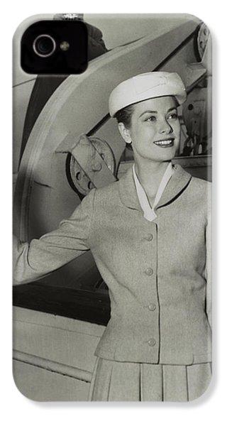 Grace Kelly In 1956 IPhone 4s Case by Mountain Dreams