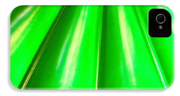 Green Abstract IPhone 4s Case by Christy Beckwith